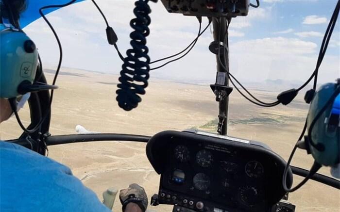 پارک ملی خَبْر کرمان دچار آتش سوزی شد