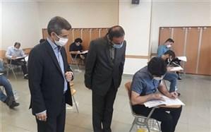 بازدید محمدزاده از حوزه برگزاری آزمون استخدامی آموزش دهندگان و آموزشیاران