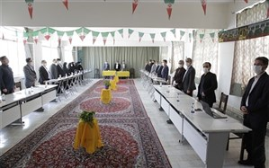 برگزاری جلسه هم اندیشی مدیران هنرستان های فنی وحرفه ای وکاردانش ناحیه یک اردبیل