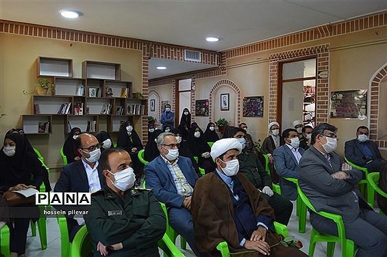 افتتاحیه نمایشگاه حجاب و عفاف در مجموعه فرهنگی زندگی بهشتی در بیرجند