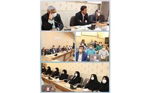 برگزاری مراسم گرامیداشت روز عفاف و حجاب  در گناباد