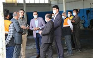 بازدید از ماشین آلات و تجهیزات استان رنجان