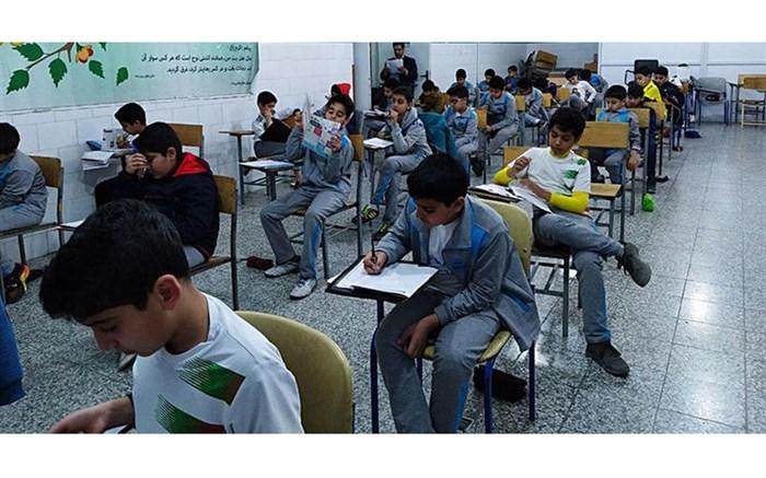 رقابت بیش از 5 هزار دانش آموز استان در آزمون مدارس استعدادهای درخشان