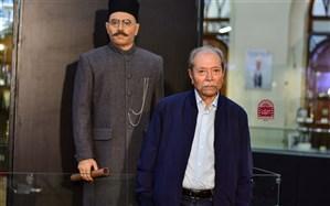 تندیس «علی نصیریان» در موزه سینما رونمایی شد
