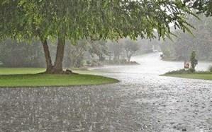 بارش باران از روز گذشته تا صبح  امروز  در نقاط مختلف گیلان