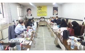 برگزاری نشست هم اندیشی مناطق مجری طرح نماد با حضور سرپرست معاون پرورشی شهر تهران