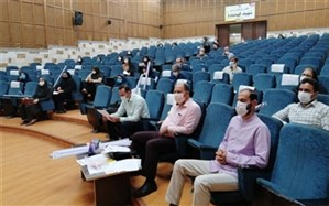 جلسه توجیهی مسئول-منشی های پایگاه های سنجش استان البرز برگزار شد