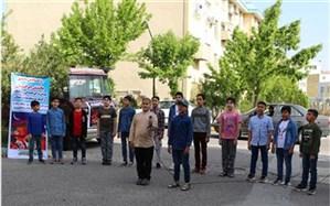هنرنمایی و کسب رتبه برتر کشوری گروه سرود رهپویان ولایت شهرستان زنجان