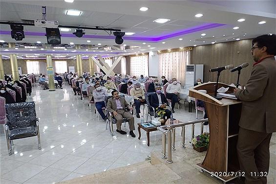 جلسه  هم اندیشی پروژه مهر 99مدیران مدارس  کاشمر