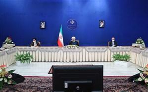 روحانی: دولت مصمم است برای رفع مشکلات با همه توان و با همراهی دو قوه دیگر تلاش کند
