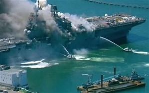 آیا انفجار ناو «بونهام ریچارد» به سرنوشت جت «E-A11» دچار میشود