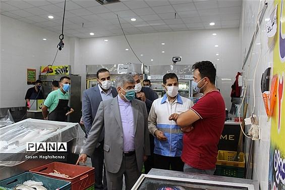 بازدیدمیدانی فرماندار اسلامشهر از واحدهای صنفی شهرستان