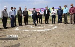 آغاز عملیات احداث دبستان ۳ کلاسه خیری شهید اندرزگو در رامهرمز