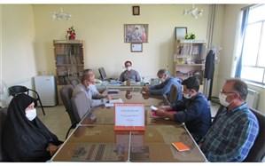 برگزاری جلسه ستاد بهبود اوقات فراغت دانش آموزان درمنطقه خورش رستم