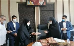 تجلیل از برگزیدگان مسابقه عفاف وحجاب ناحیه دو شهر ری