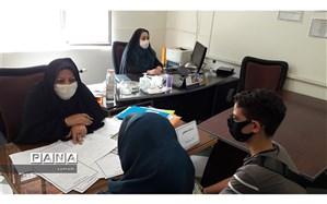 استقرار میز هدایت تحصیلی ۱۴۰۰-۱۳۹۹ در آموزش و پرورش منطقه ۱۳ تهران