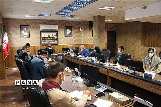 جلسه شورای برنامهریزی سازمان دانش آموزی استان فارس