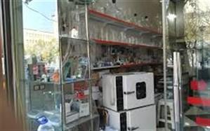 انتقال  انبار واحدهای شیمیایی  از محدوده بازار تکمیل شد