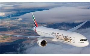 هواپیمایی امارات پروازهای خود به تهران را از سرگرفت