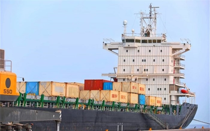 ششمین کشتی گندم اهدایی هند به افغانستان در بندر چابهار پهلو گرفت