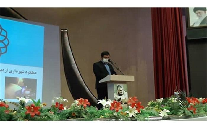 بازدید استاندار اردبیل از ستاد کرونای شهرداری اردبیل