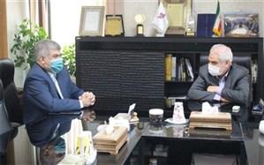 دیدار فرماندار اسلامشهر با معاون وزیر صمت و مدیر عامل سازمان صنایع کوچک و شهرکهای صنعتی ایران