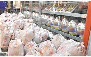 عرضه ۵ هزار تن مرغ از محل ذخایر