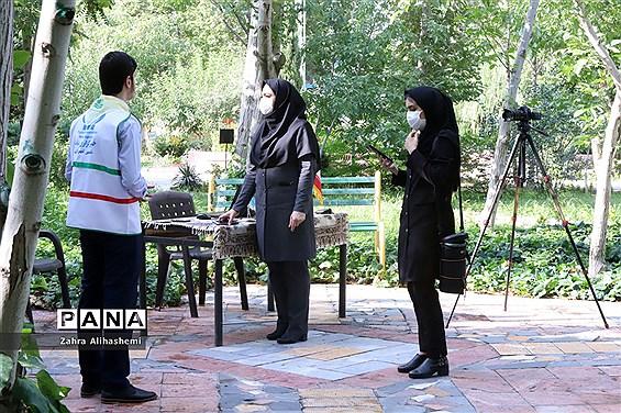 تولید محتوای سازمان دانشآموزی شهر تهران در منطقه 4
