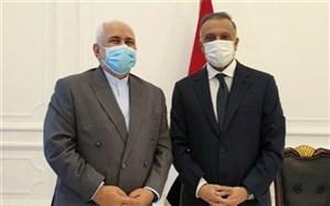 دیدار ظریف با نخستوزیر عراق و رئیس ائتلاف فتح