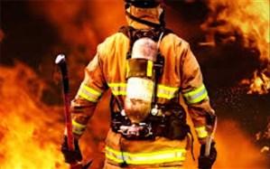 آتش سوزی انبار روغن خودرو در فردیس مهار شد