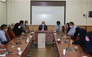 برگزاری  مراسم تکریم و معارفه معاون پرورشی و تربیت بدنی آموزش و پرورش  اسلامشهر