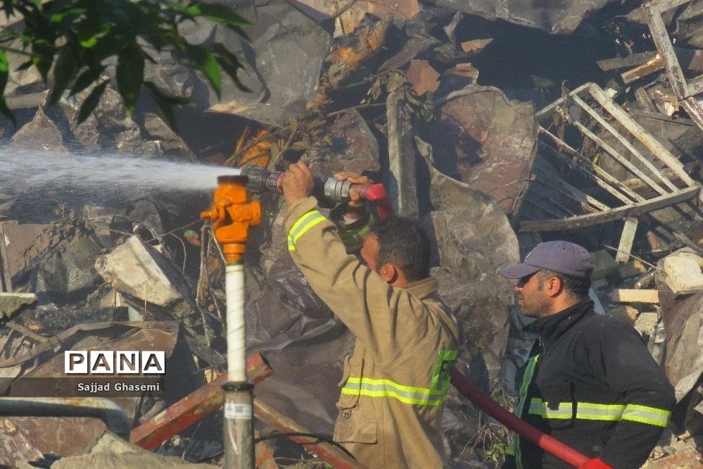 آتش سوزی ۴ خانه در شهرستان بندرگز