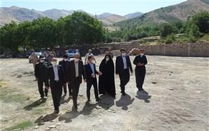 بازدید مدیر کل آموزش و پرورش کردستان از پروژه آموزشی در حال احداث روستای پایگلان