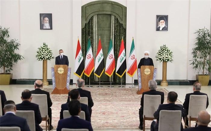 رییسجمهور در نشست خبری با نخست وزیر عراق: