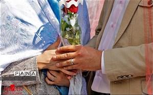 آغاز زندگی مشترک ۵۱ زوج تحت حمایت کمیته امداد خراسان شمالی
