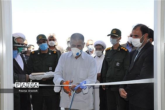 افتتاح ساختمان حوزه مقاوت بسیج شهید چمران شهرستان خوسف