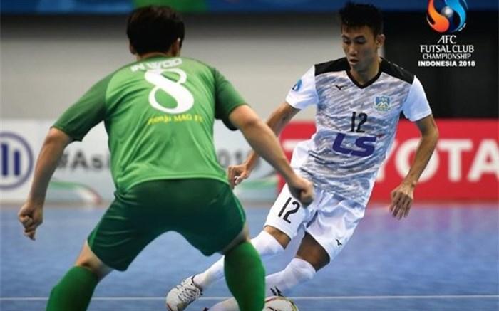 باشگاههای فوتسال آسیا