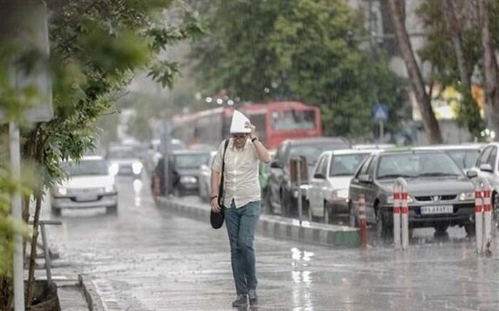 رگبار باران