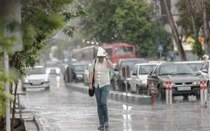 کاهش دما و تشدید بارشدر استانهای ساحلی خزر