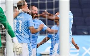 لیگ برتر سوئد؛ مالمو بدون مدافع ایرانی به یک قدمی جام رسید