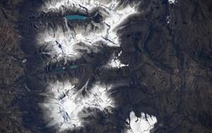 یخچالهای طبیعی پرو از منظر ایستگاه فضایی بینالمللی + عکس