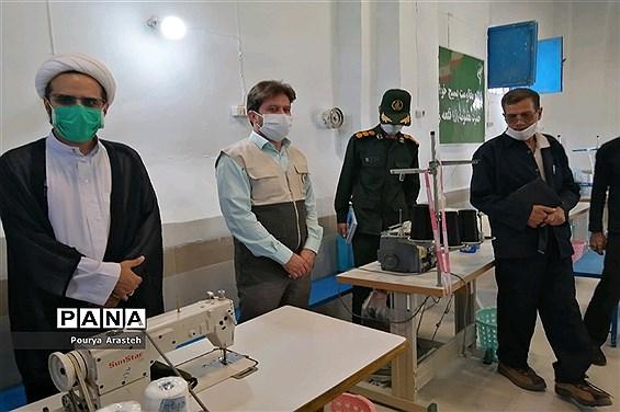 افتتاح کارگاه خیاطی معدن قلعهزری به همت ناحیه مقاومت بسیج شهرستان خوسف