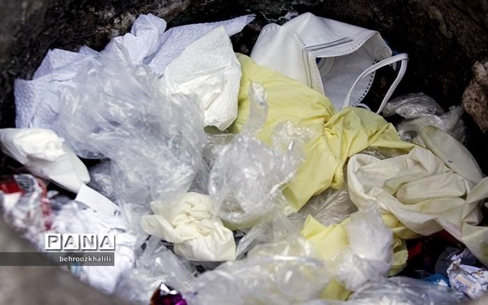 رهاسازی پسماندهای آلوده به کرونا در سطح شهر