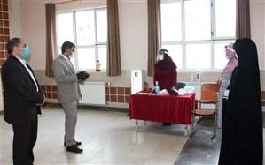 بازدید مدیرکل آموزش و پرورش استان زنجان از پایگاه های سنجش نوآموزان