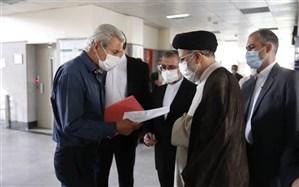 بازدید سرزده رئیس قوه قضاییه از مجتمع قضایی شهرستان لواسانات