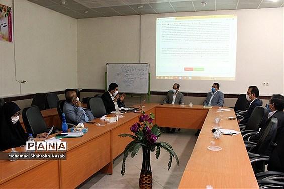 نشست ستاد اجرایی دهمین دوره انتخابات مجلس و شوراهای دانش آموزی استان خوزستان
