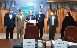 اهدای مجوز موزه دریانوردی بندر شرفخانه آذربایجان شرقی