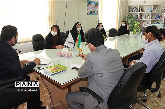 جلسه کارگروه پرورشی و درس تفکر و سبک زندگی آموزش و پرورش استان بوشهر