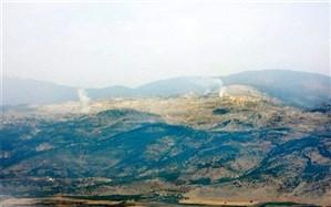 درگیری نیروهای حزبالله با ارتش رژیم صهیونیستی در مزارع شعبا