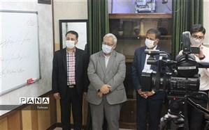 افتتاح مرکز طراحی و تولید محتوای الکترونیکی در دبیرستان جعفری اسلامی منطقه 11